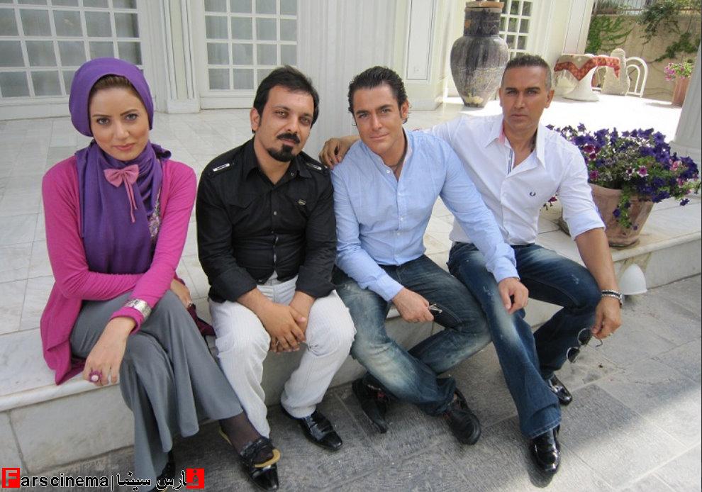 عکس پشت صحنه فیلم تو و من محمدرضا گلزار